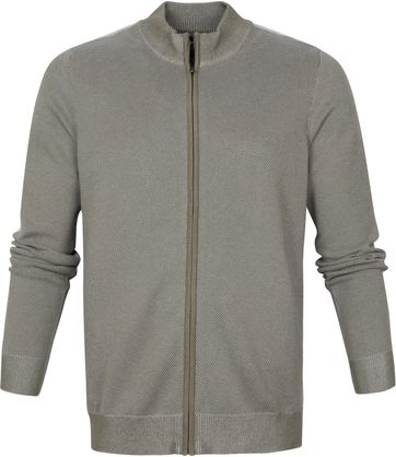 Suitable Claude Strickjacke Taupe