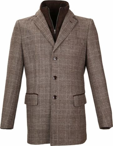 Suitable Coat Anton Brown