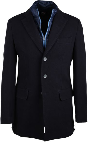 Suitable Coat Harry Navy