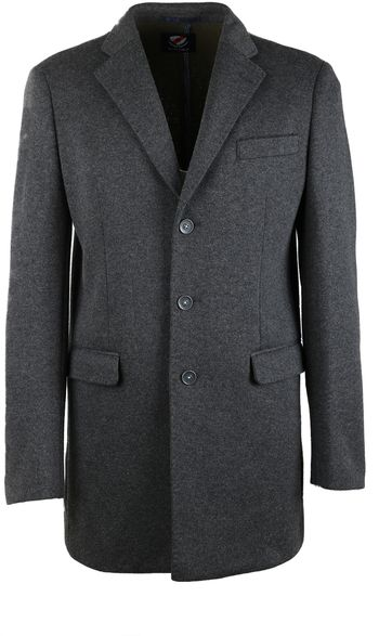 Suitable Coat Hendrik Antraciet