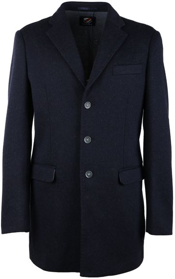 Suitable Coat Hendrik Donkerblauw