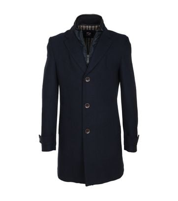 Suitable Coat Herring Navy
