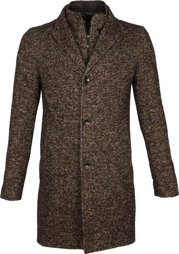 Suitable Coat Karel Brown