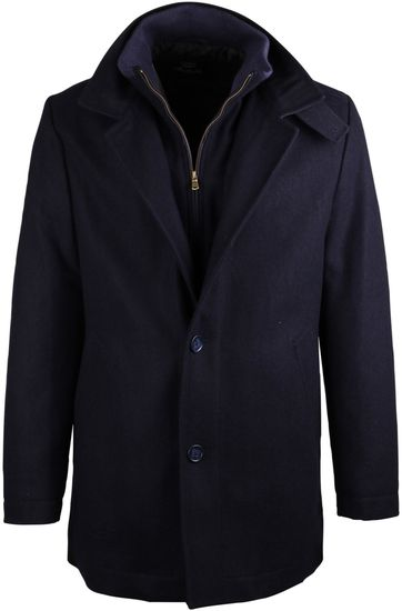 Suitable Coat Kris Donkerblauw
