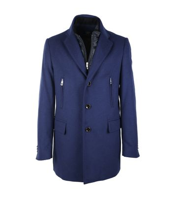 Suitable Coat Martijn Blue
