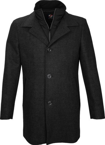 Suitable Coat Soest Antraciet
