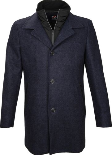 Suitable Coat Soest Indigo