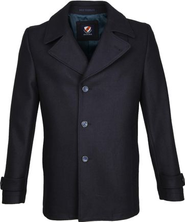 Suitable Coat Spaarne Dunkelblau