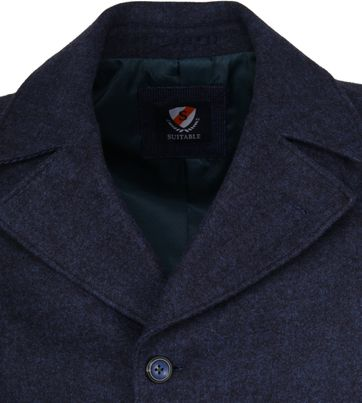 Suitable Coat Spaarne Indigo