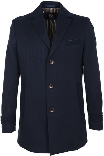 Suitable Coat Twill Navy