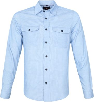Suitable Corduroy Overshirt Light Blue