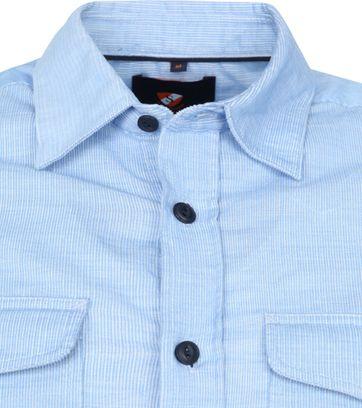 Suitable Corduroy Overshirt Light Blue