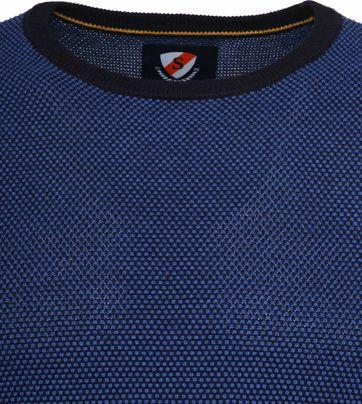 Suitable Cotton Bince Pullover Blue