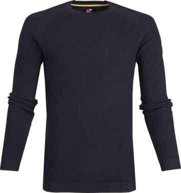 Suitable Cotton Darrel Pullover Navy