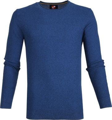 Suitable Cotton Hong Pullover Blue