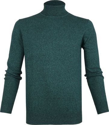 Suitable Cotton Kenjio Turtleneck Green