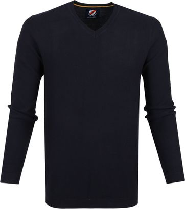 Suitable Cotton Neil Pullover Navy