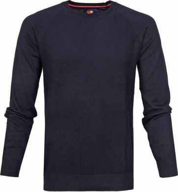 Suitable Cotton Sweater Ben Navy