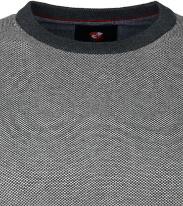 Suitable Cotton Thomas Pullover Grey