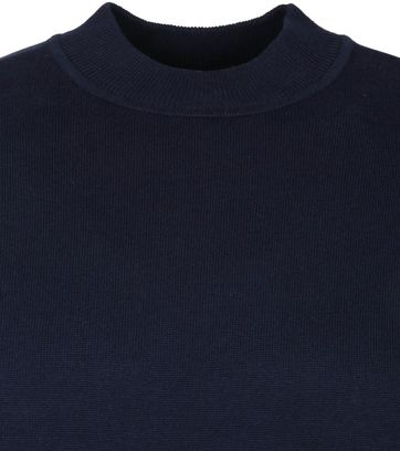 Suitable Cotton Turtle Pullover Navy