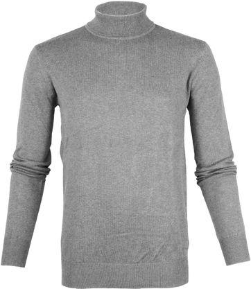 Suitable Cotton Turtleneck Kenjio Grey