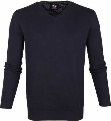 Suitable Cotton Vini Pullover Navy