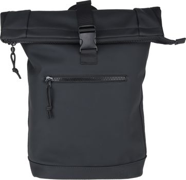 Suitable Courier Backpack Black