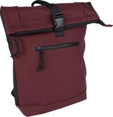 Suitable Courier Backpack Bordeaux
