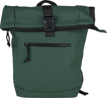 Suitable Courier Backpack Dark Green