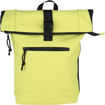 Suitable Courier Backpack Neon Yellow