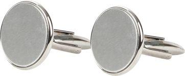 Suitable Cufflinks Steel