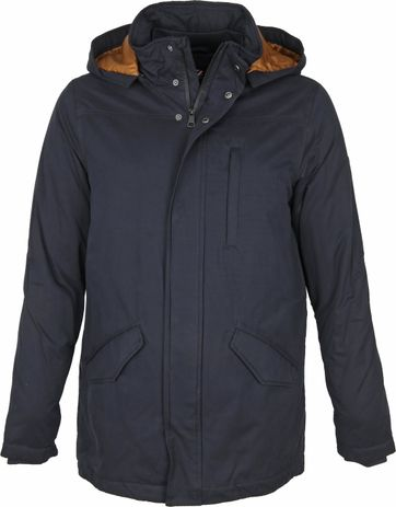 Suitable Dennis Jacket Navy