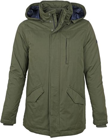 Suitable Dennis Jacket Olive Green