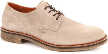 Suitable Derby Flach Beige