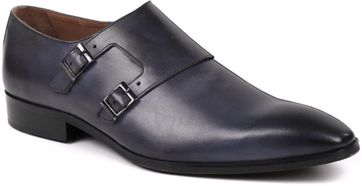 Suitable Doppel Monkstrap Grau