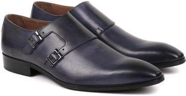 Suitable Double Monk Strap Grey