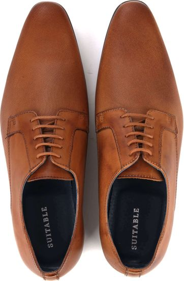 Suitable Dress Shoes Derby Cognac