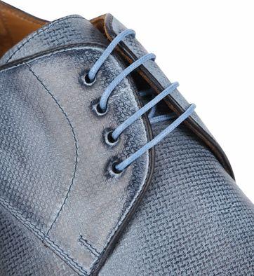 Suitable Dress Shoes Derby Print Blue
