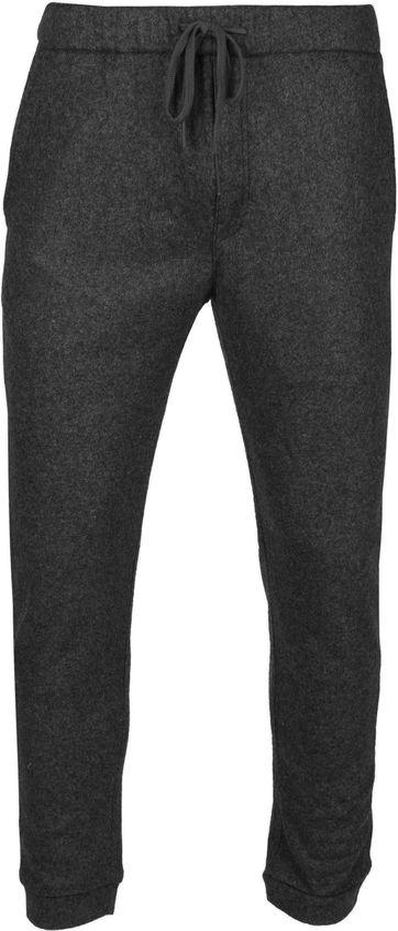 Suitable Easky Pantalon Jersey Anthracite