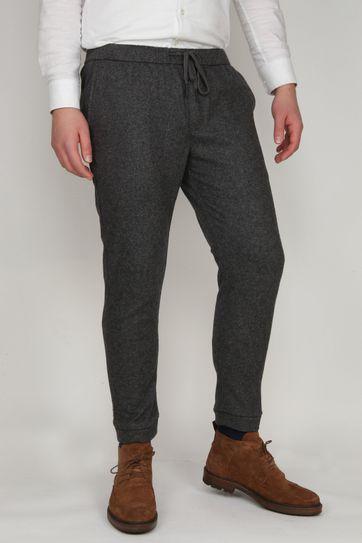 Suitable Easky Pantalon Jersey Antraciet