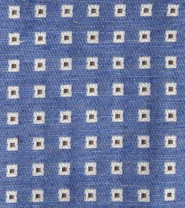 Suitable Einstecktuch Blau F01-18