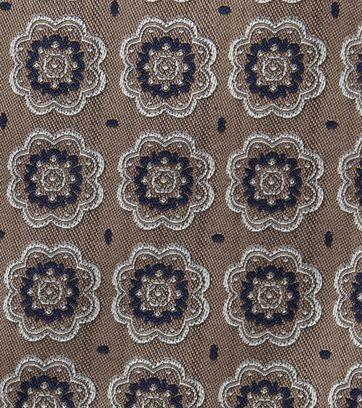 Suitable Einstecktuch Braun F01-09