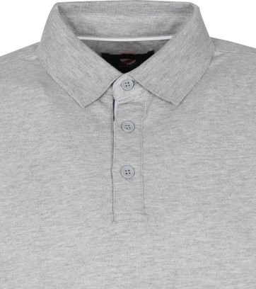 Suitable Emiel LS Polo Grau