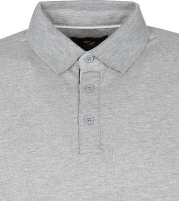 Suitable Emiel LS Polo Grey