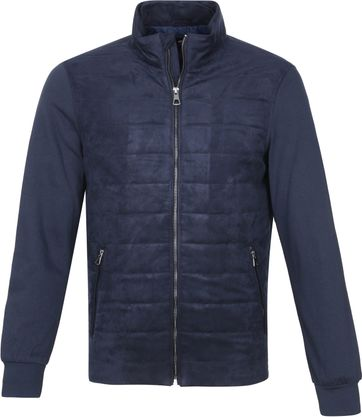 Suitable Ethan Passetta Jas Donkerblauw