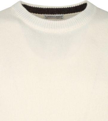 Suitable Fine Lambswool 7 gauge Pullover O-Neck Beige
