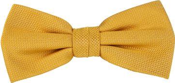 Suitable Fliege Gelb Seide
