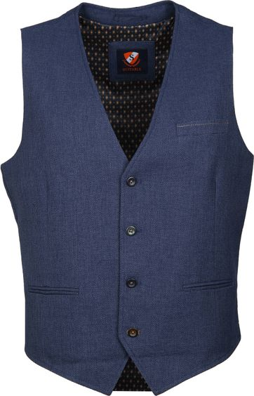 Suitable Fyn Gilet Navy
