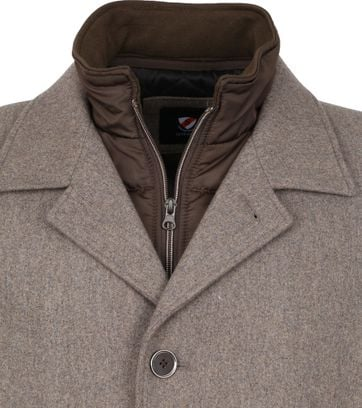 Suitable Geke Coat Brown