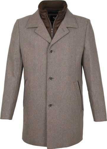 Suitable Geke Coat Bruin